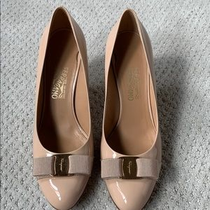 Ferragamo heels 9.5M